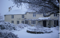 old carpenters arms snowy scene